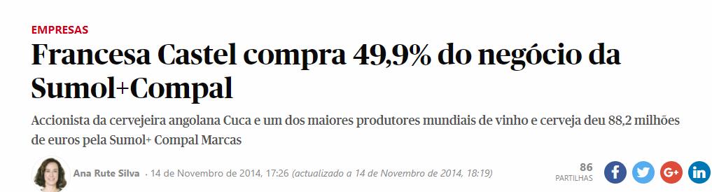 O Mercado pode estar errado